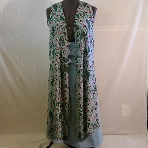 Joy Duster, flowy and drapes beautifully